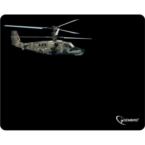 """Коврик для мыши Gembird MP-GAME4, рисунок- """"вертолет-2"""", (250x200x3mm)"""