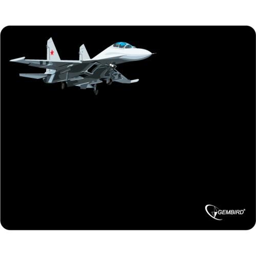 """Коврик для мыши Gembird MP-GAME5, рисунок- """"самолет-2"""", (250x200x3mm)"""