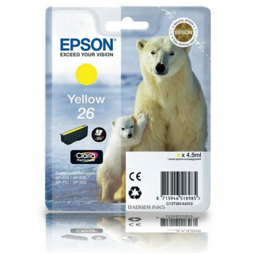 Картридж T26144010 Epson Expression Premium XP-6xx/7xx/8xx Yellow