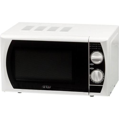 Микроволновая печь Sinbo SMO 3657 белый/чёрный