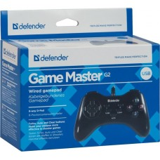 Геймпад Defender Game Master G2  кнопки Turbo/Clear/Auto, крестовина, 10 кнопок, длина кабеля 150см.