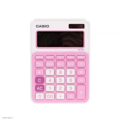Калькулятор Casio MS-20NC-PK-S-EC настольный