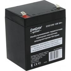Аккумулятор 12В 5Ач Exegate Special EXS1250 клеммы F2 (255175)