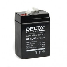 Аккумулятор DELTA DT4045, 4V 4,5Ah