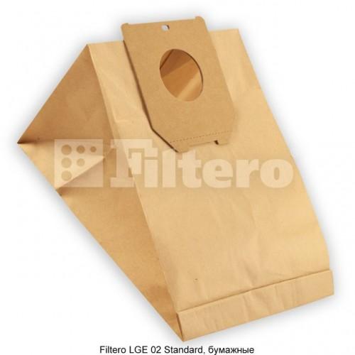 Мешок-пылесборник Filtero LGE 02 Standard бумажные