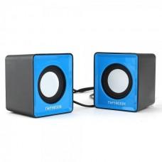 Акустическая система 2.0 Гарнизон GSP-100 синий/черный