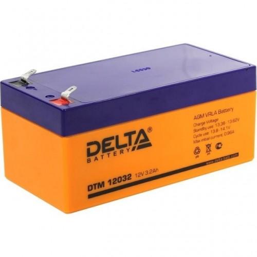 Аккумулятор DELTA DTM 12032 12v 3.2Ah