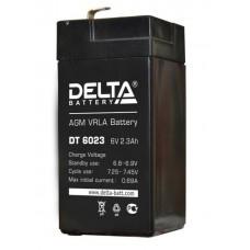 Аккумулятор DELTA DT 6023 6V 2.3Ah (44x47x107мм/0.38кг)
