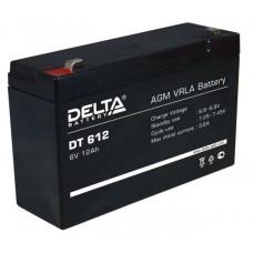 Аккумулятор DELTA DT 612 6V 12Ah (150x50x100мм/1.72кг)