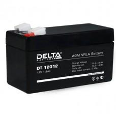 Аккумулятор DELTA DT 12012 12V 1.2Ah (97x44x59мм/0.58кг)