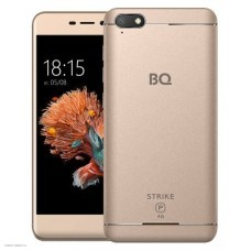 Смартфон BQ BQ-5037 Strike Power, золотистый