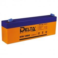 Аккумулятор DELTA DTM 12022 12V 2.2Ah (178x35x67мм/0.99кг)