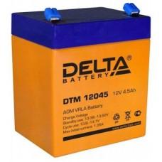 Аккумулятор DELTA DTM 12045 12V 4.5Ah (90x70x107мм/1.63кг)