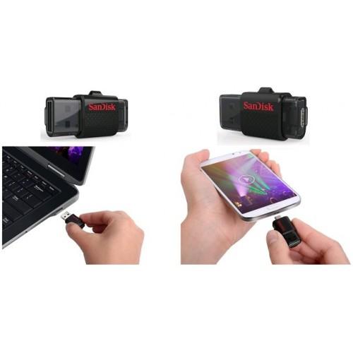 Накопитель USB 3.0 Flash Drive 16Gb SanDisk Ultra Dual Drive