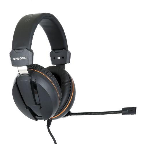 Наушники с микрофоном Gembird MHS-G100