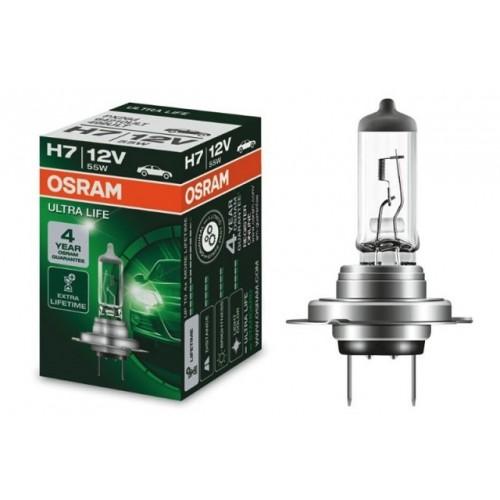 Галогеновая лампа Osram H7 12V- 55W (PX26d)