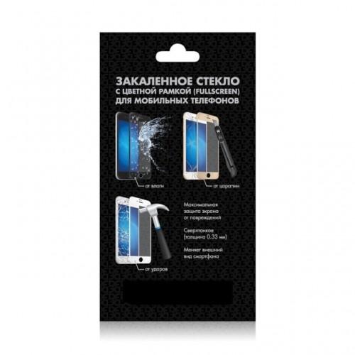 Защитное стекло DF для смартфона Xiaomi Mi Note, ударопрочное, с черной рамкой (xiColor-13)