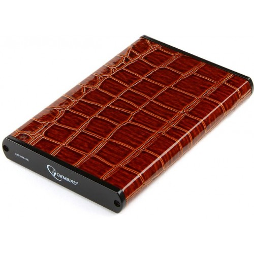 "Внешний корпус 2.5"" Gembird EE2-U3S-70L-BR USB 3.0, 2.5"", SATA, brown"