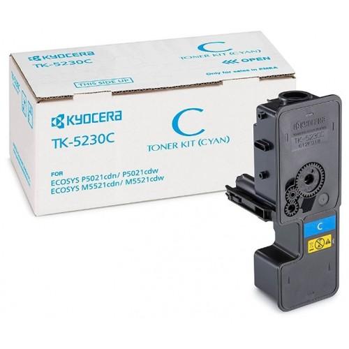 Тонер-картридж Kyocera TK-5230C для Kyocera P5021cdn/cdw/M5521cdn Cyan (2200 стр.)