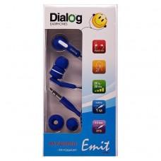 Наушники Dialog EP-F15 (blue) проводные