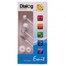 Наушники Dialog EP-F55 (silver) проводные
