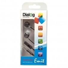 Наушники Dialog ES-F57 (gray) проводные с микрофоном