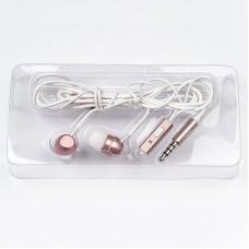 Наушники Dialog ES-F57 (pink) проводные с микрофоном