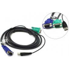Комплект кабелей ATEN мон+клав+мышь USB 2L-5203U