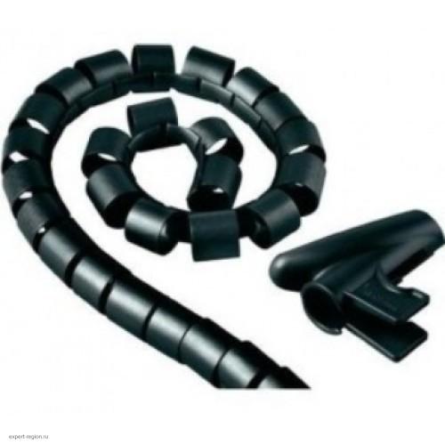 Кабельный органайзер Hama H-20603 1.5m black (00020603)