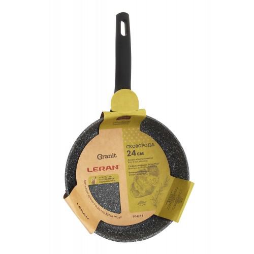 Сковорода с покрытием Granit Xylan Plus LERAN d24см PF-2424