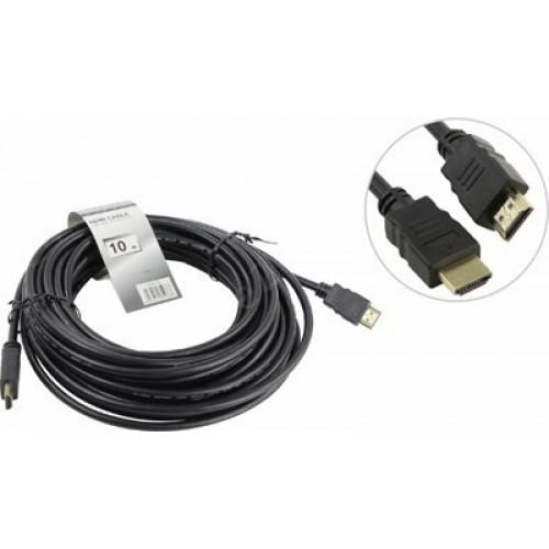 Кабель HDMI 19M-19M V1.4+3D,10m, TV-COM (CG501N-10M)