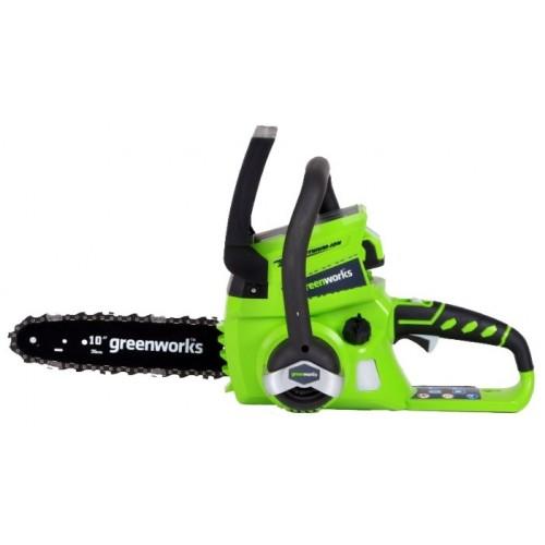 Пила цепная Greenworks G24CS25