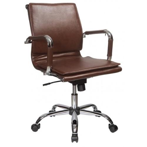Кресло Бюрократ (CH-993-Low-V/brown)