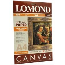 Холст для струйной печати  А4, лён, 400мкм, 10 листов (0908411)