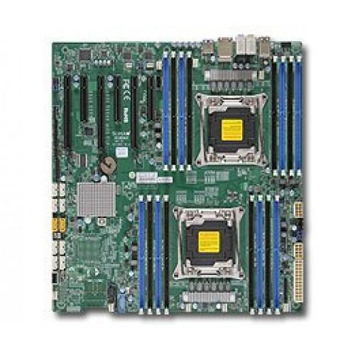 Плата Supermicro X10DAi (2xCPU LGA2011-r3, Intel® C612/16xDDR4/3PCI-E/SATA RAID/2GLAN/E-ATX) Retail
