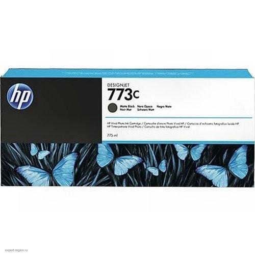 Картридж C1Q37A(№773C) HP Designjet Z6600/Z6800 Matte Black 775мл