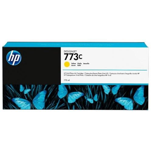 Картридж C1Q40A(№773C) HP Designjet Z6600/Z6800 Yellow 775мл