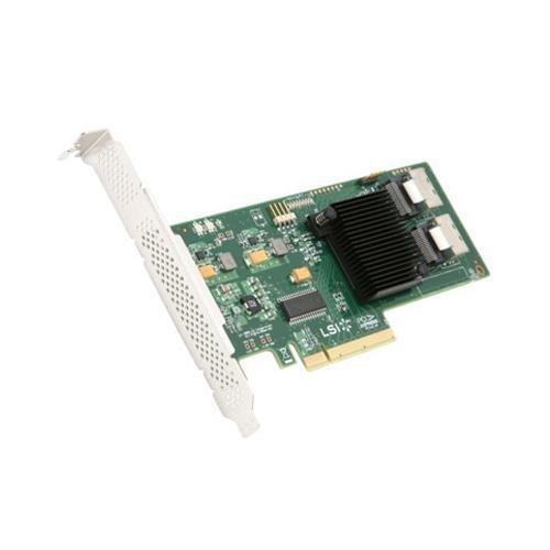 Контроллер PCI-E 2.0  x8 LSI HBA SAS 9211-8i (LSI00194)