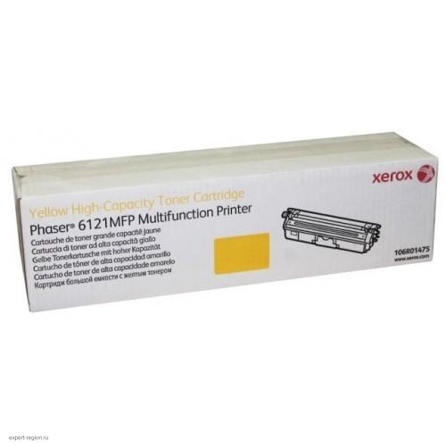 Тонер-картридж 106R01475 Xerox Phaser 6121MFP Yellow (2500стр.)