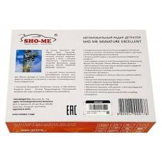 Радар-детектор Sho-Me SIGNATURE EXCELLENT
