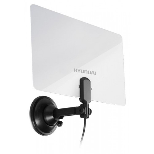 Антенна телевизионная Hyundai H-TAI240 (30дБ/активная) белый