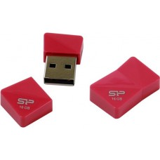 Накопитель USB 2.0 Flash Drive 16Gb Silicon Power Touch T08 (Peach)