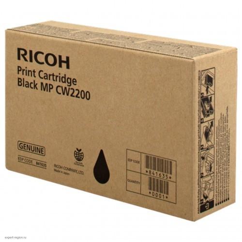 Картридж тип MP CW2200 Ricoh MPC W2200 Black (841635)