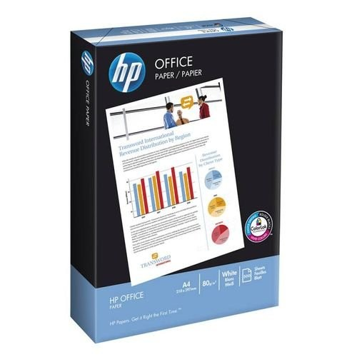 Бумага International Paper HP Officel А4, 80 г/м2, 500 листов, белыйматовая, для лазерной печати (CHPOP080X528)