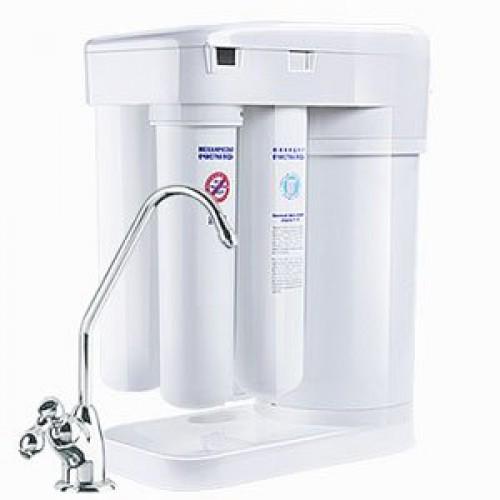 Фильтр проточный АКВАФОР МОРИОН DWM-101 для жесткой воды, система обратного осмоса, для холодн. воды, 0.26 л/м