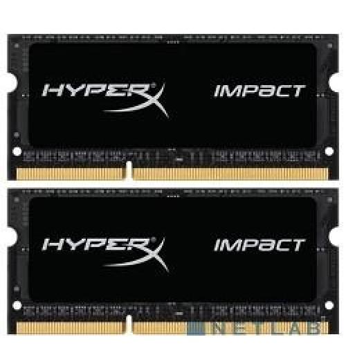 Комплект модулей SODIMM DDR3 SDRAM 2*8192Мb Kingston HyperX Impact