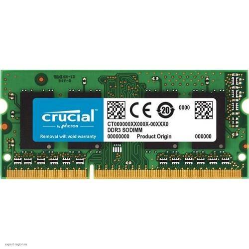 Модуль памяти SODIMM DDR3 SDRAM 4096 Mb Crucial