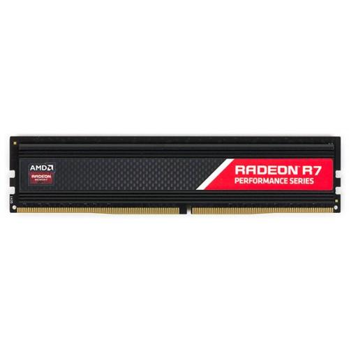 Модуль DIMM DDR4 SDRAM 4096Мb AMD Radeon R7  (PC4-17000, 2133MHz) CL15 (R744G2133U1S-UO)