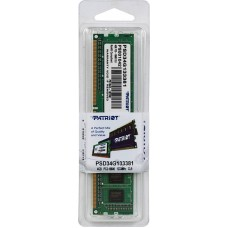 Модуль DIMM DDR3 SDRAM 4096 Mb Patriot