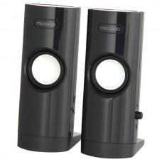 Акустическая система 2.0 MICROLAB B-18 black (4.8W RMS пластик) USB